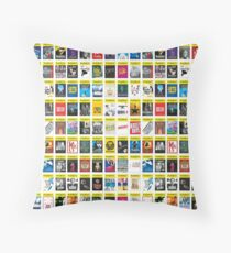 Playbill Seasion Poster Throw Pillow