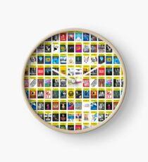 Playbill Seasion Poster Clock