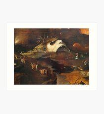 Hellscape by Hieronymus Bosch Art Print