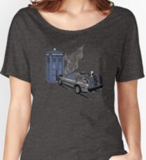 Back to the Whoture Women's Relaxed Fit T-Shirt