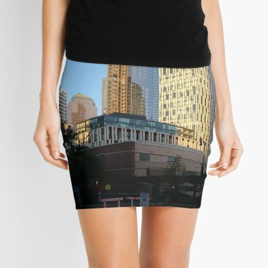 #Happiness, #Building, #Skyscraper, #NewYork, #Manhattan, #Street, #Pedestrians, #Cars, #Towers, #morning, #trees, #subway, #station, #Spring, #flowers, #Brooklyn  Mini Skirt