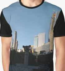 #Happiness, #Building, #Skyscraper, #NewYork, #Manhattan, #Street, #Pedestrians, #Cars, #Towers, #morning, #trees, #subway, #station, #Spring, #flowers, #Brooklyn  Graphic T-Shirt