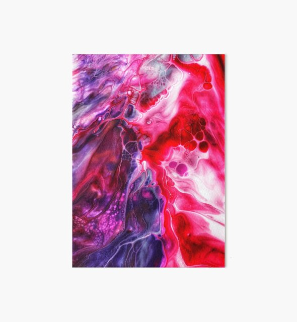 Acrylic Paint Pour - 2 by Cassie Robinson