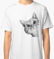 Camiseta clásica gato furtivo
