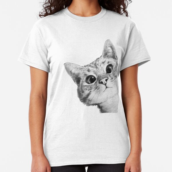 sneaky cat Classic T-Shirt