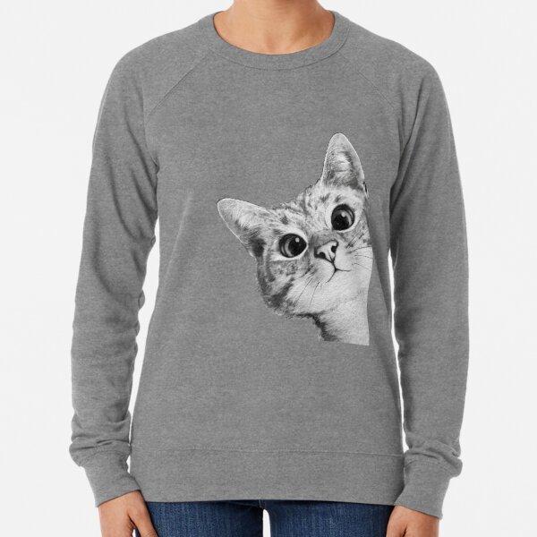 chat sournois Sweatshirt léger