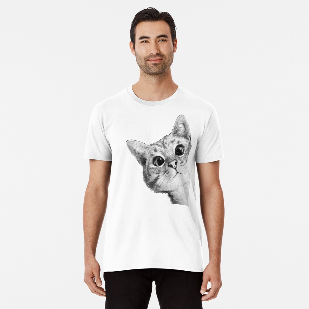 sneaky cat Premium T-Shirt