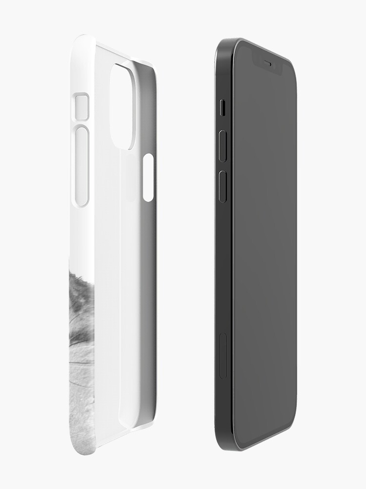 Alternate view of sneaky cat iPhone Case & Cover