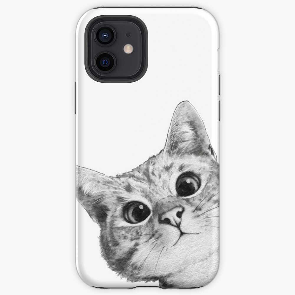 sneaky cat iPhone Case & Cover