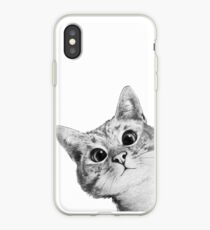 Vinilo o funda para iPhone gato furtivo