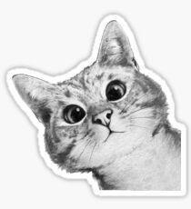 hinterhältige Katze Sticker