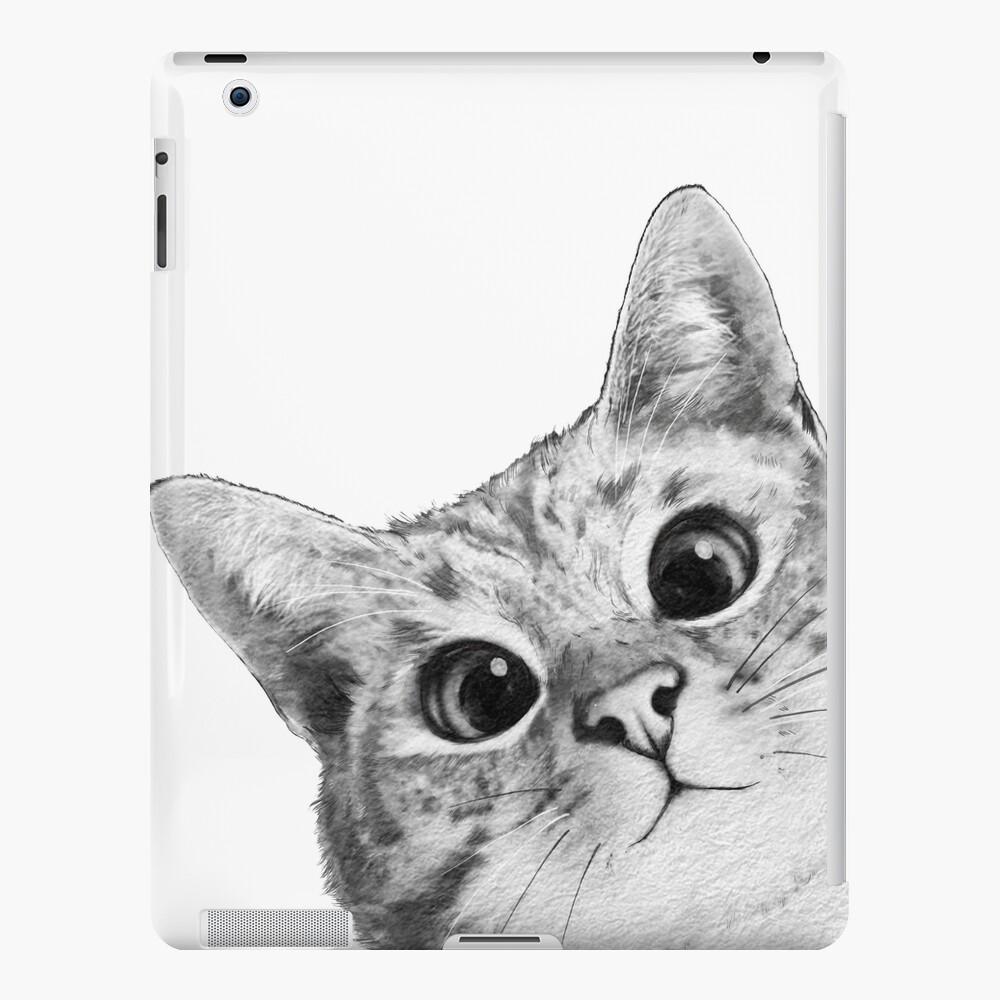 sneaky cat iPad Case & Skin