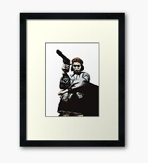 Natalie in lion Framed Print