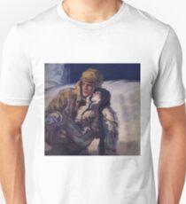 Hero with damsel Unisex T-Shirt