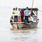 Mekong Boats 2 by Werner Padarin