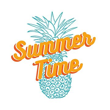 Summer time Pineapple T-shirt by sherifshaaban