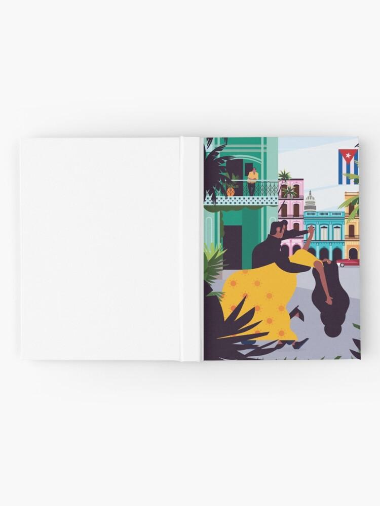 Alternate view of Havana ft. Salsa Dancers Hardcover Journal