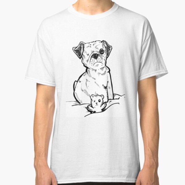 Bulldog francés con batido de cóctel para hombres Camiseta-Gracioso Mascota Perro de toro
