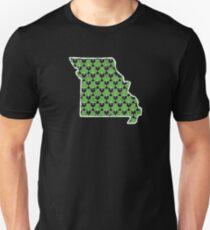 Shamrock Art Missouri St Pattys Day Outfits For Women Unisex T-Shirt