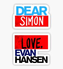 Huge Love Simon Sticker