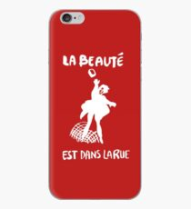 Beauty Is in the Street (white) iPhone Case