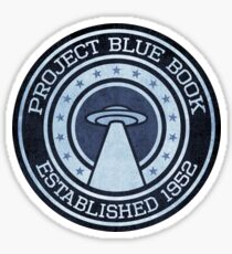 PROJECT BLUE BOOK Sticker