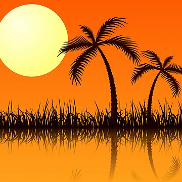 Tropical Sunset by krddesigns