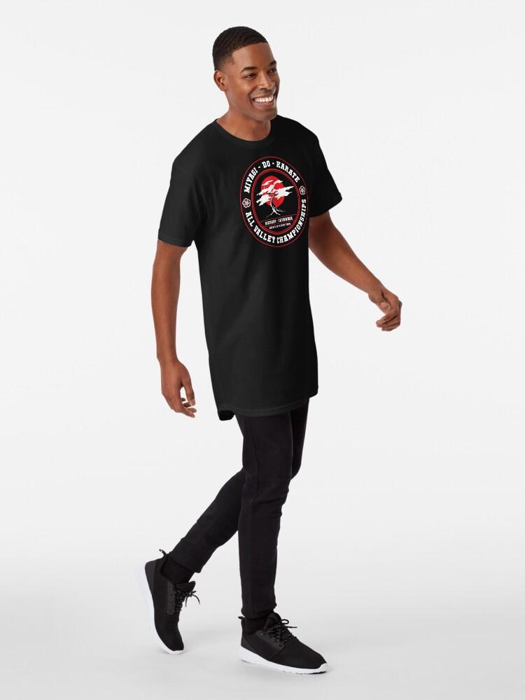 Alternative Ansicht von Karate Kid - Herr Miyagi Do inverse Variante Longshirt