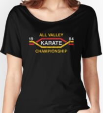 The Karate Kid - All Valley Championship distressed Variant 2 Women's Relaxed Fit T-Shirt