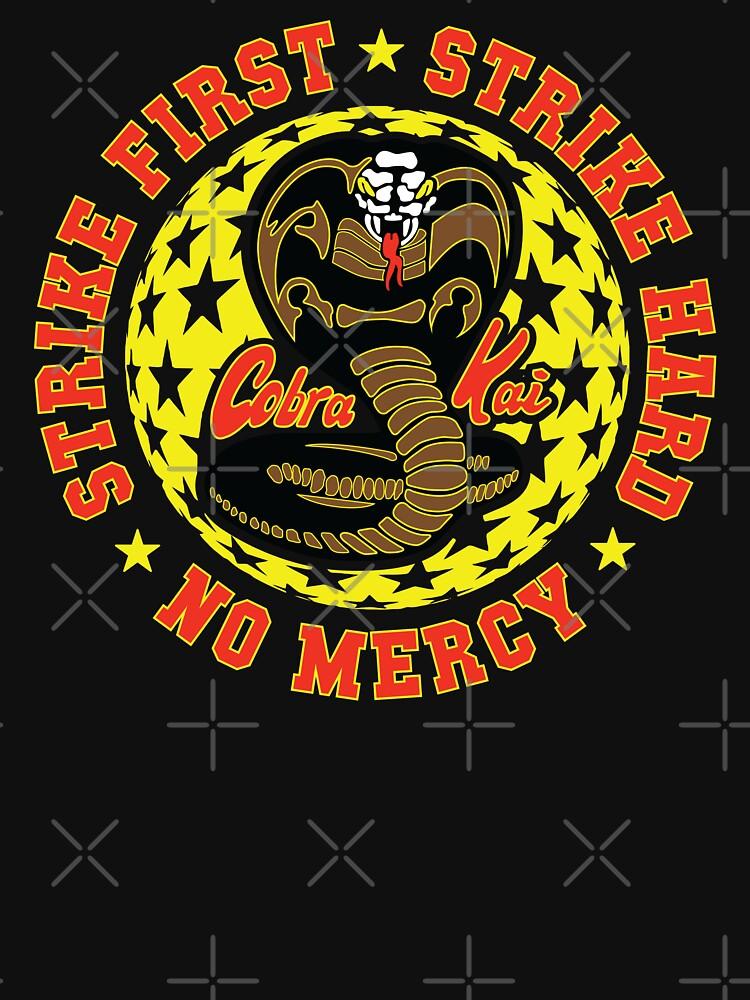 Cobra kai - Schlag drei HD-Logo von Purakushi