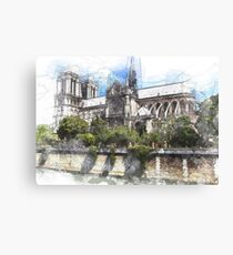 Paris Kathedrale Notre Dame Leinwanddruck