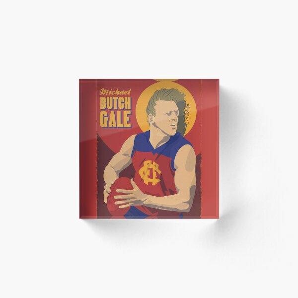 Michael 'Butch' Gale - Fitzroy Acrylic Block