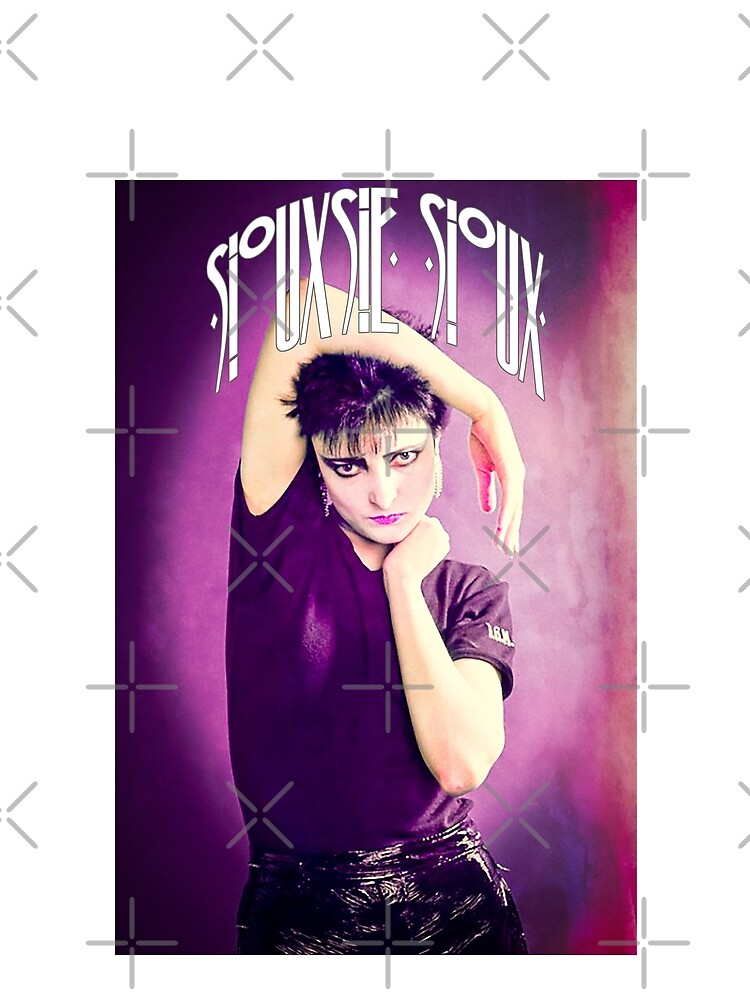 Siouxsie Sioux (Siouxsie and the Banshees) Grunge 1 by litmusician