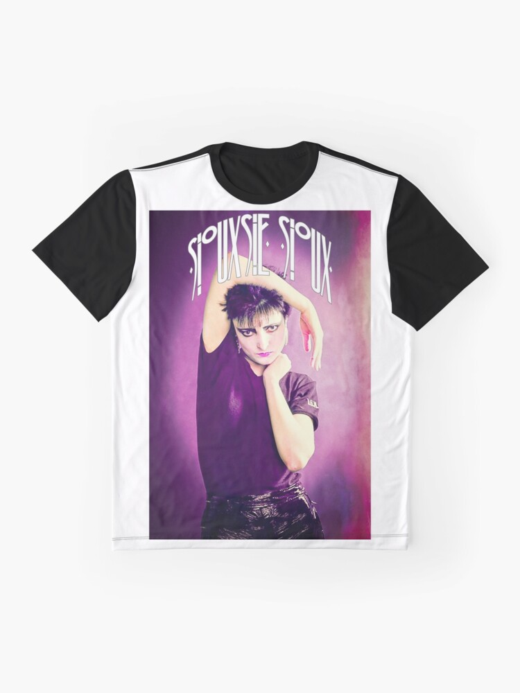 Alternate view of Siouxsie Sioux (Siouxsie and the Banshees) Grunge 1 Graphic T-Shirt