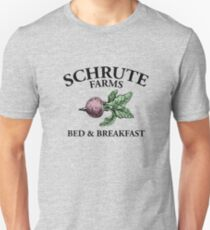 SCHRUTE FARMS | BED AND BREAKFAST Unisex T-Shirt