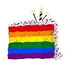 GayDay Cake by BriPi