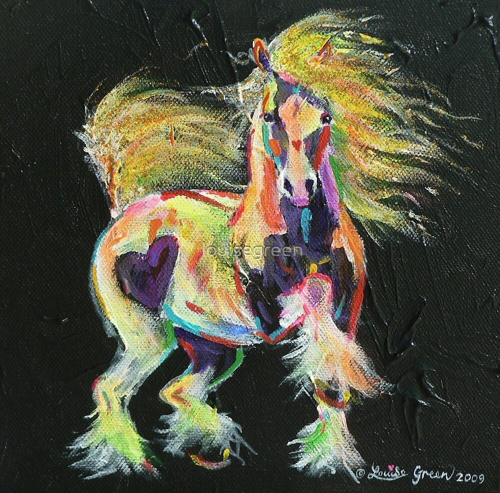 Gypsy Gold Pony by louisegreen