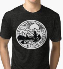 Ich hasse Menschen Vintage T-Shirt