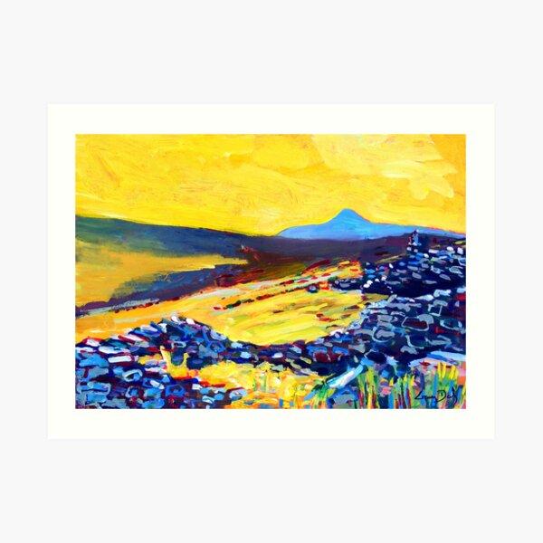 Deserted Village, Achill, County Mayo, Ireland Art Print