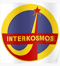 Sowjetisches Raumfahrtprogramm Englisch Poster