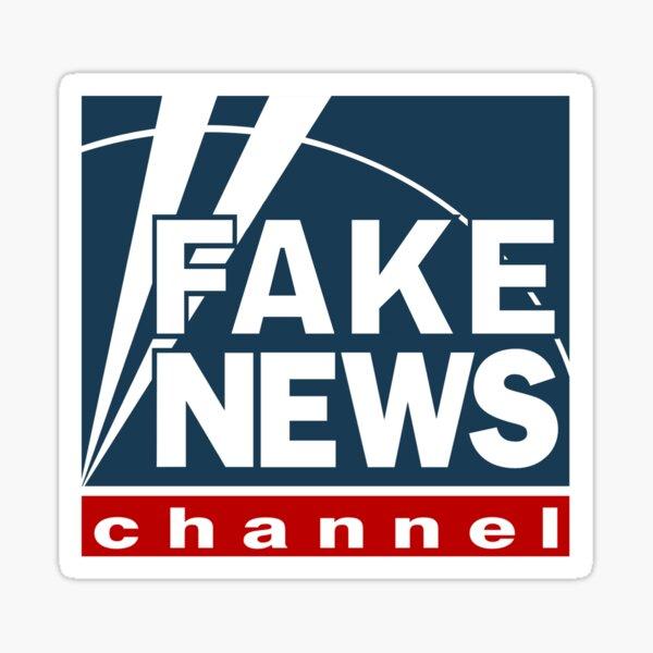 Fake News FOX Sticker