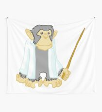 Academic Chimps: The Professor Wall Tapestry