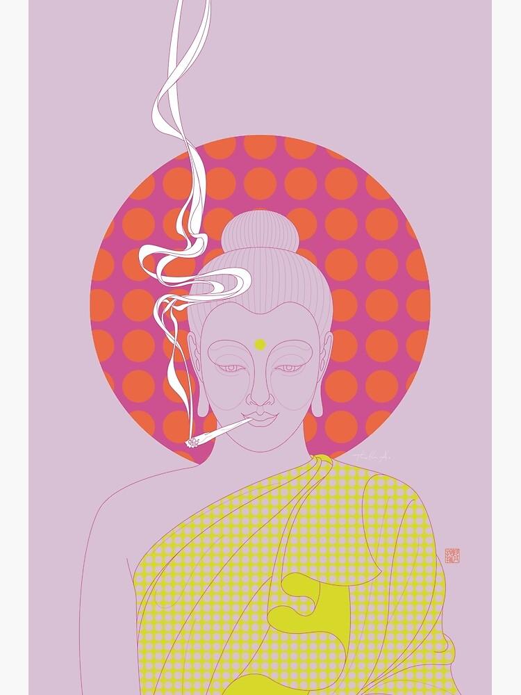 Buddha : Give Peace a Chance! (PopArtVersion) by Thoth-Adan