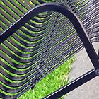 Bench Lines by PPPhotoArt