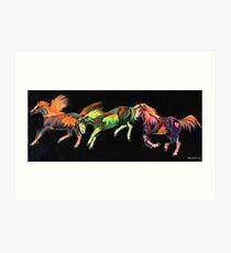 Spirit Ponies Art Print