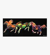 Spirit Ponies Photographic Print