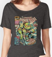 The Amazing Ninja Dude Women's Relaxed Fit T-Shirt