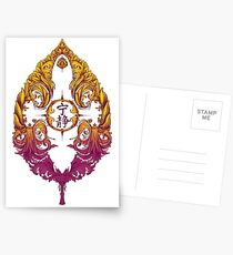 Serenity Victoriana - Farbe Postkarten
