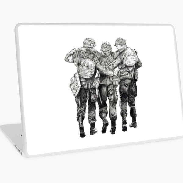 Band of Brothers Laptop Skin
