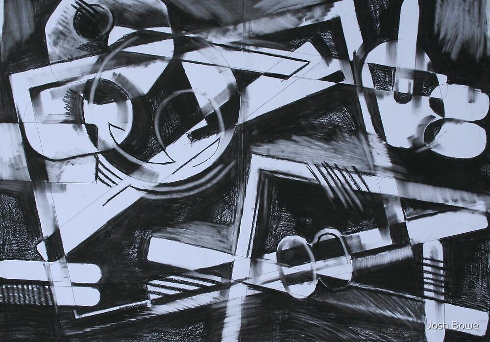Charcoal study 2 by Josh Bowe